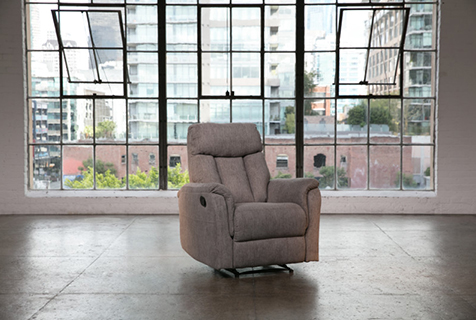 transitional wallaway recliner