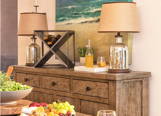 How To Decorate A Buffet Living Spaces