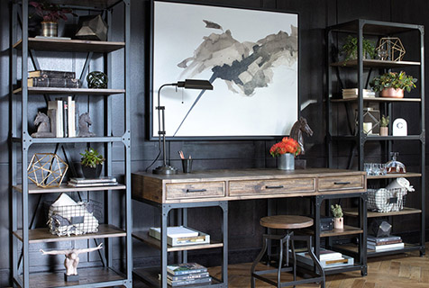 bookcase buying guide - industrial