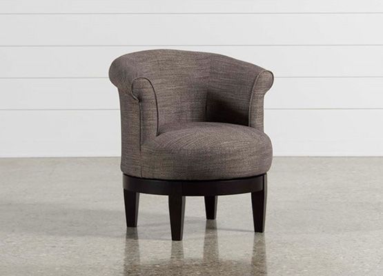 small space theo swivel chair