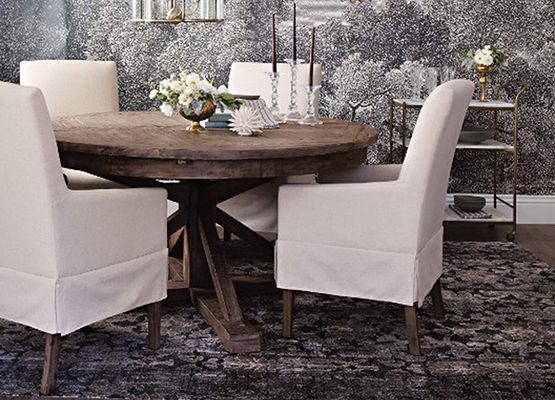 coastal cottage dining room chair