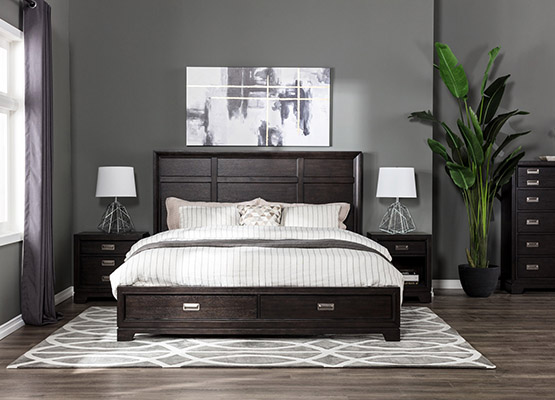 Black and White Decor Trends for the Bedroom | Living Spaces