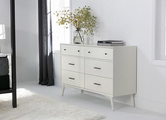 minimalist-chic black and white decor