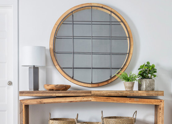 pick the right wall mirror shape