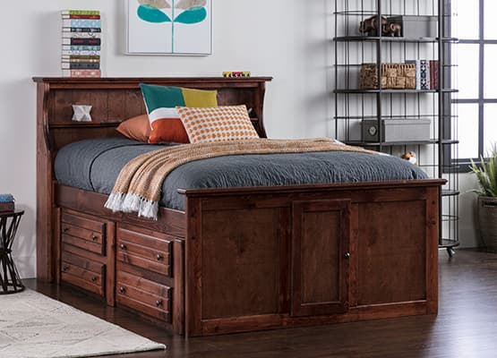 headboard buying guide - bookcase
