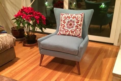customer photos: living edition accent chair