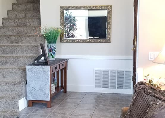 home renovation console table