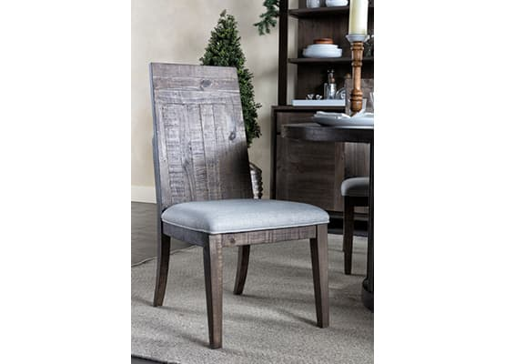 rustic dining christmas dining room chair