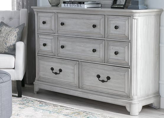small space storage - large dresser