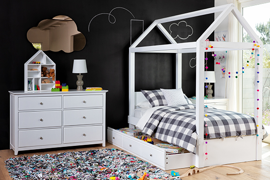 kids canopy bed