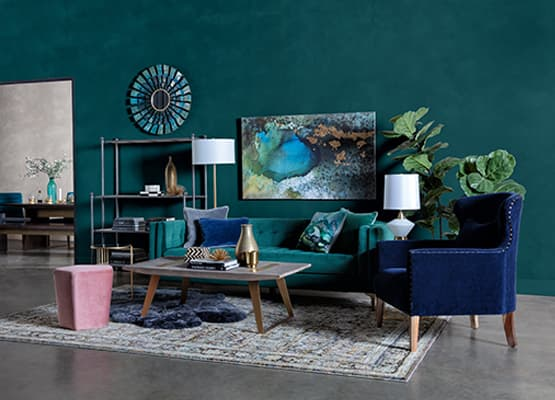 Navy Blue Color Guide: Elegance in Home Decorating | Living ...