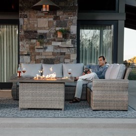 outdoor cement furniture