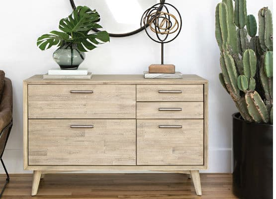 tapered leg dresser