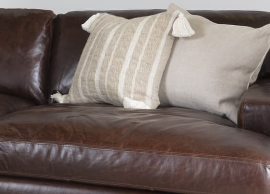 soft leather sofa