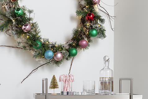 modern christmas decor idea