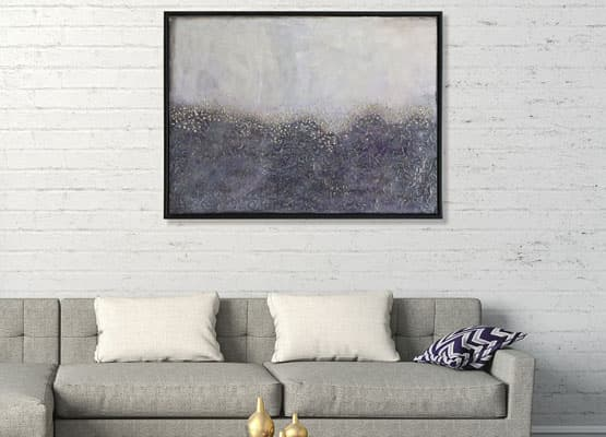 abstract grey art