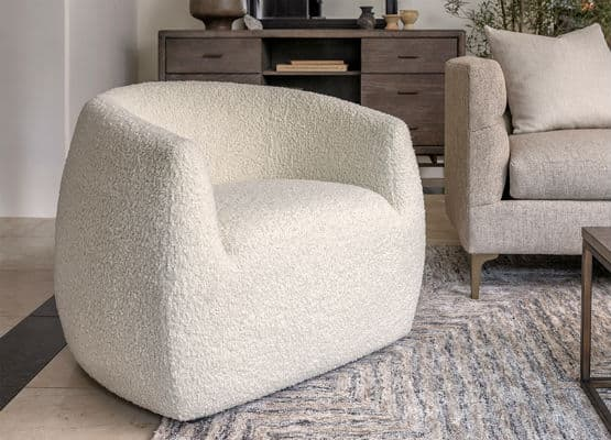 The Round Chair Trend Is Like A Great Big Bear Hug Living Spaces