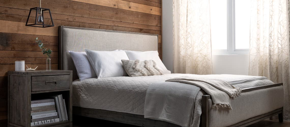earthy neutral bedroom color