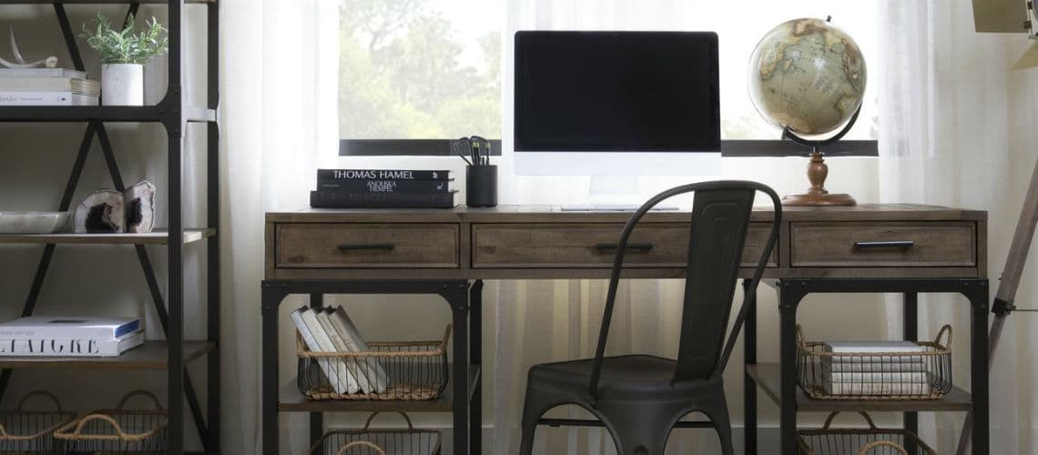 19 Home Office Ideas That Will Make You, Home Office Furniture Ideas