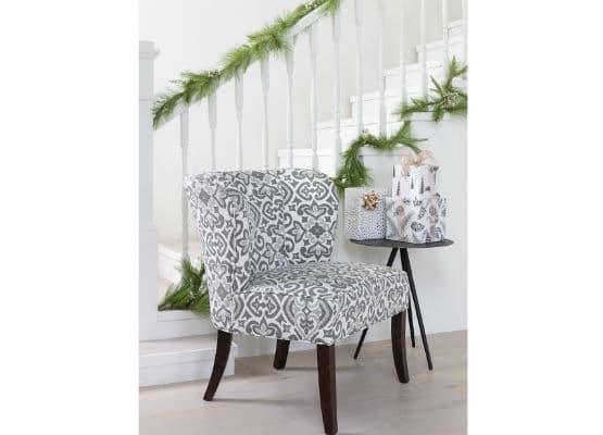 цветочный диван кресло