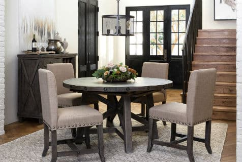 rustic style - dining room chairs