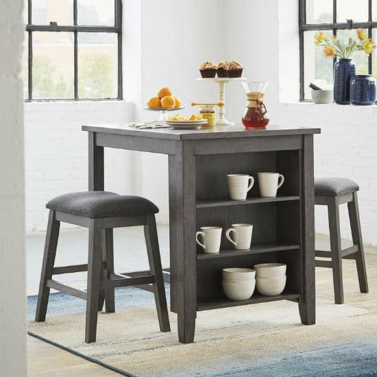 Counter Height Dining Room Furniture Ing Guide Living Spaces - What Size Stool For 36 High Table