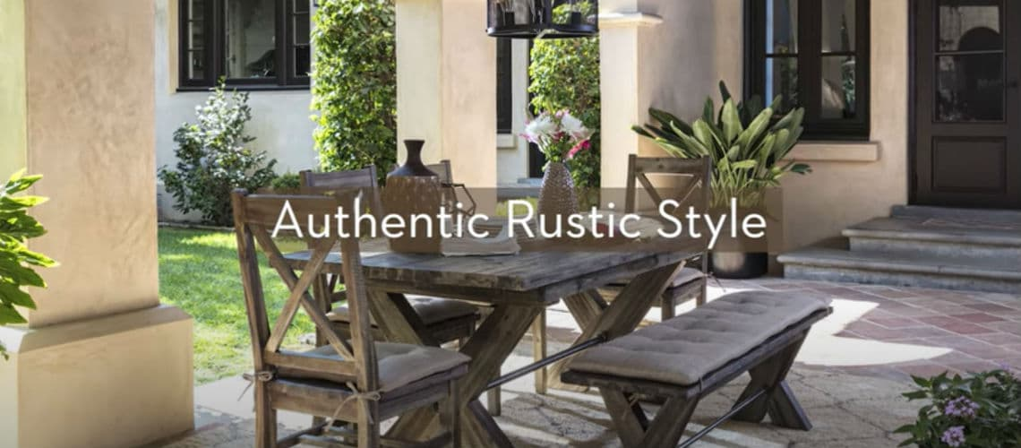 rustic style video guide