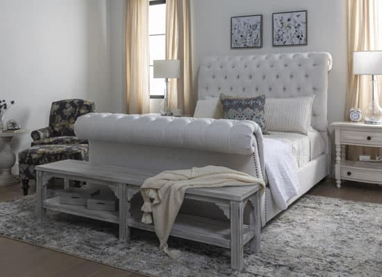 What Is A Sleigh Bed Everything About This Timeless Bed Design Living Spaces