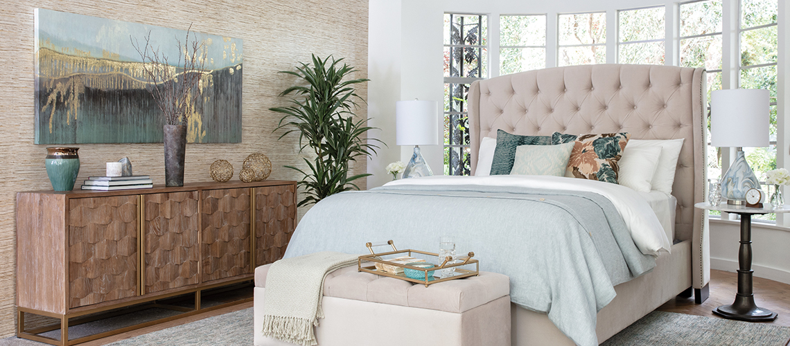 tufted bedroom featured