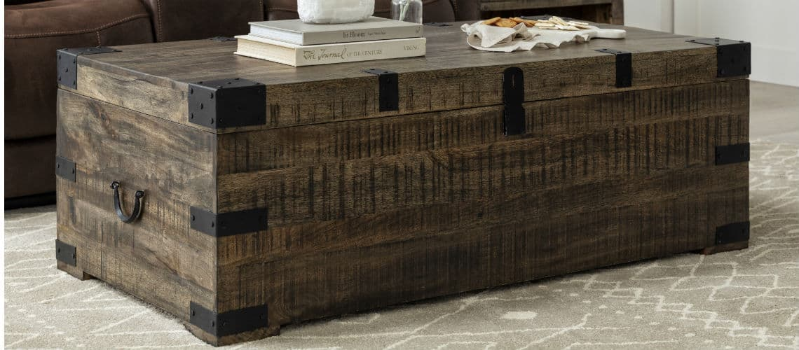 wood hope chest