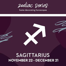 Sagittarius decor