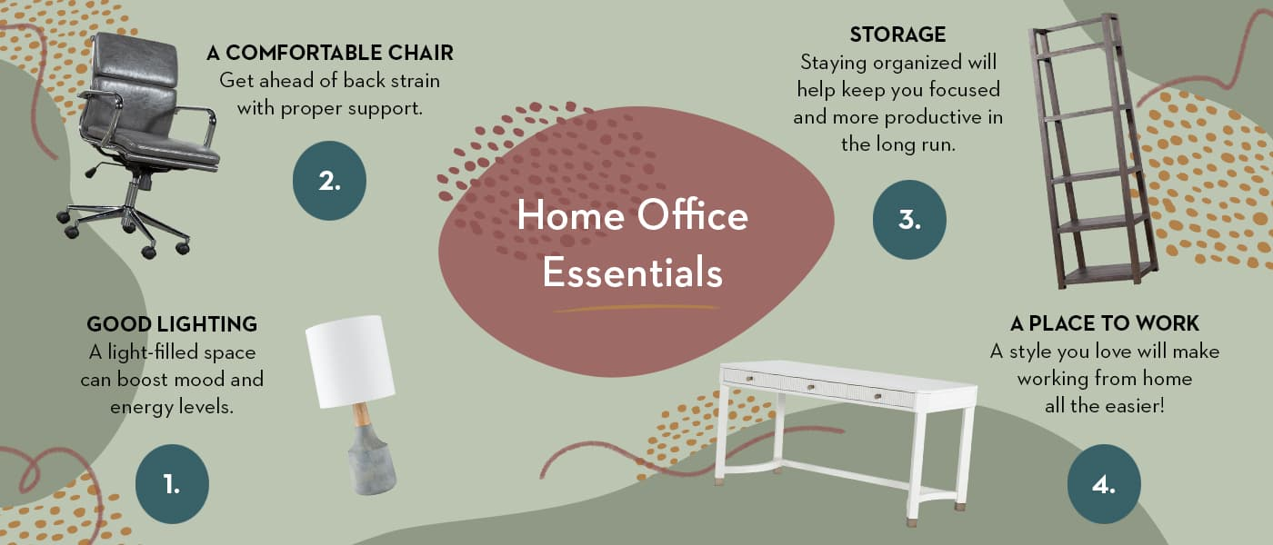 Home Office Infographic