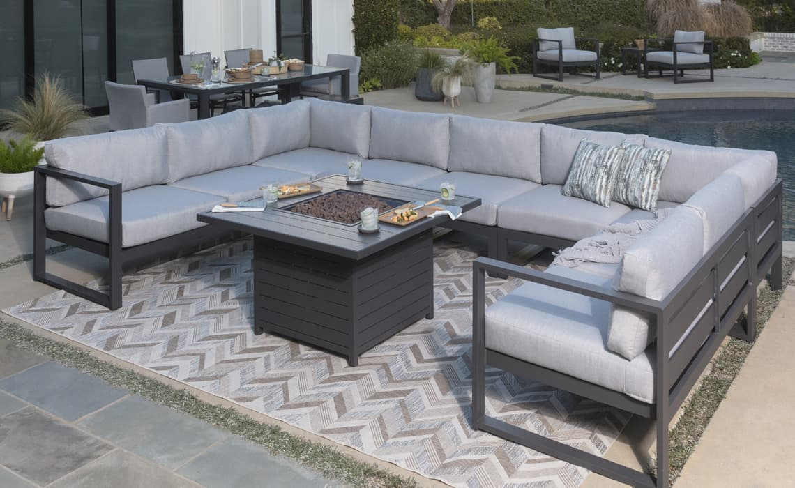 floor plans patio furniture layout