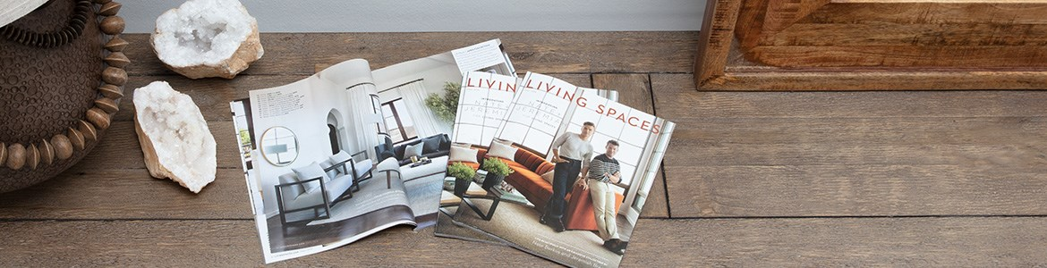 Living spaces Fall Catalog