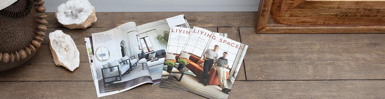 Living Spaces Fall Catalog