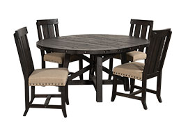 Jaxon 5-Piece Round Dining Set