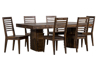 7pc Wood Dining Sets
