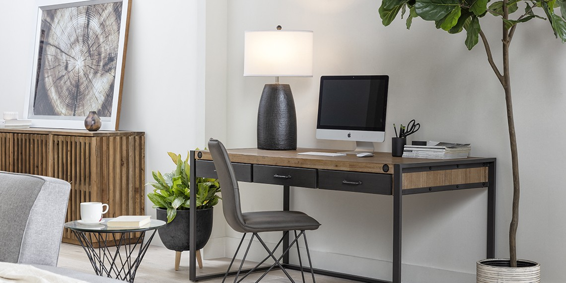 Industial Office Design with Whistler Desk