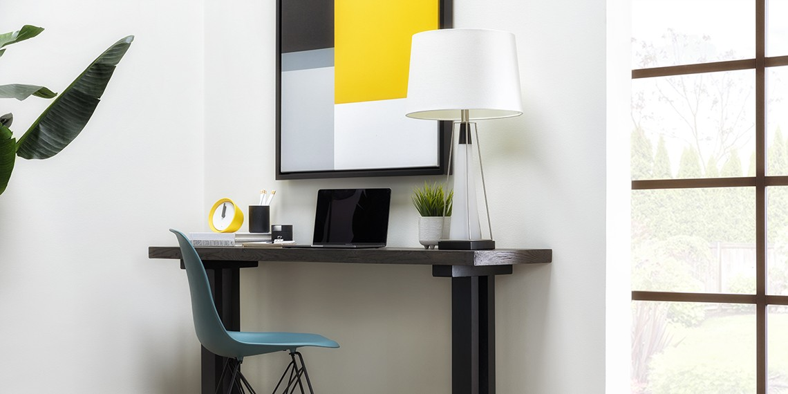 Mid-Century Office Design with Rita Sofa Table