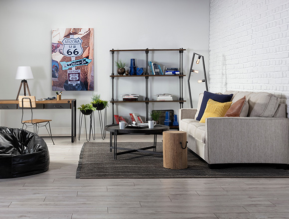 Living Room With Escondido Sofa