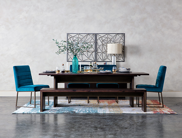 Brilliant Dining Room Ideas To Get Inspired Living Spaces Complete Home Design Collection Barbaintelli Responsecom