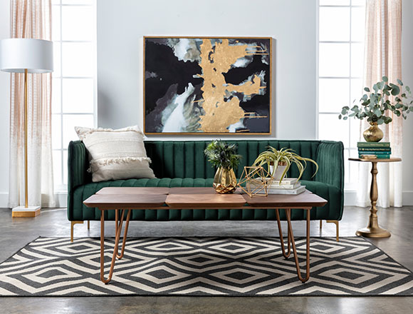 Mid-Century Room Ideas | Living Spaces