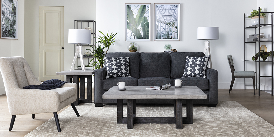 modern Living Room with Turdur Sofa