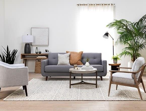 Living Room Ideas Decor Spaces, Grey Sofa Living Room Decor Ideas