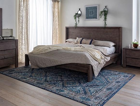 Boho Bedroom with Regan Queen Platform Bed
