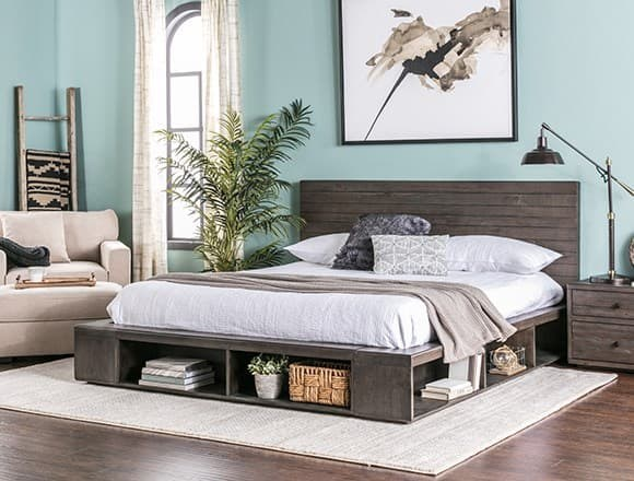 Modern Bedroom with Dylan Bed