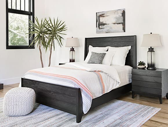 Modern Bedroom with Keane Bed