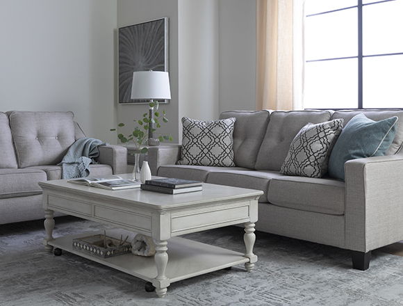 traditional Living Room with Linday Park Sofa