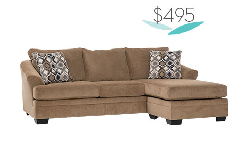 Tomlin 2 Piece Sectional | $495