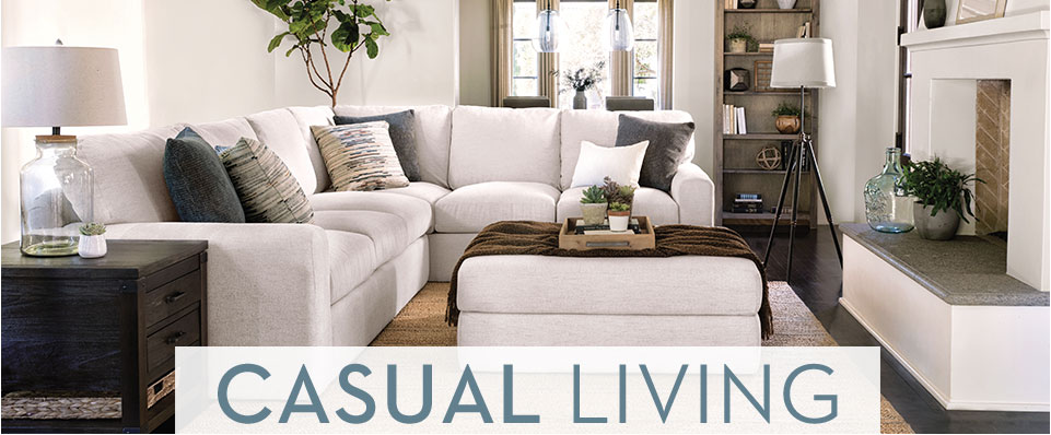 Casual Living At Living Spaces Gorgeous Casual Living Room